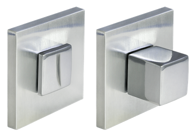 Завертка сантехническая MH-WC-S6 SC  матовый хром квадратная тонкая