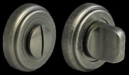 Завертка сантехническая MH-WC CLASSIC OMS (старое матовое серебро)