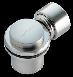 Ограничитель магнитный MDS- 4SN, цвет белый никель